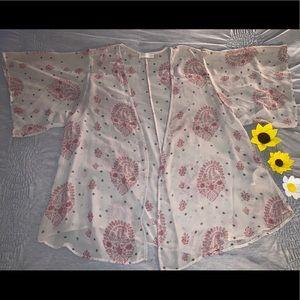 Forever 21 Sheer Kimono